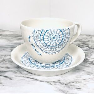 Mary & Martha New Mercies cup and saucer